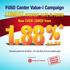 FUSO Help You Save More Campaign