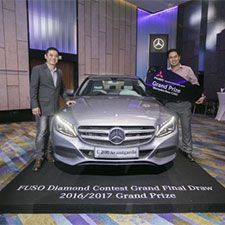FUSO Diamond Contest Grand Final Draw 2016/2017