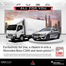 FUSO All For You Contest 2019